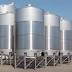 Image of Large Industrial Mixing Tanks
