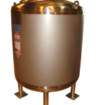 150 GALLON INSULATED VERTICAL STORAGE TANKS