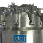 265 LITER INSULATED & JACKETED VERTICAL ROUND TANK