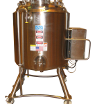 300 Liter Insulated and Jacketed Processing Tank