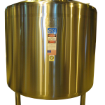800 GALLON INSULATED VERTICAL HOT WATER TANK