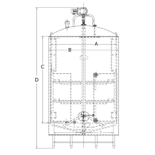 Crystallizer - Indoor Lactose