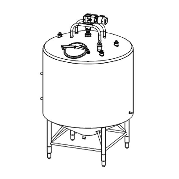 Coned Bottom Processor