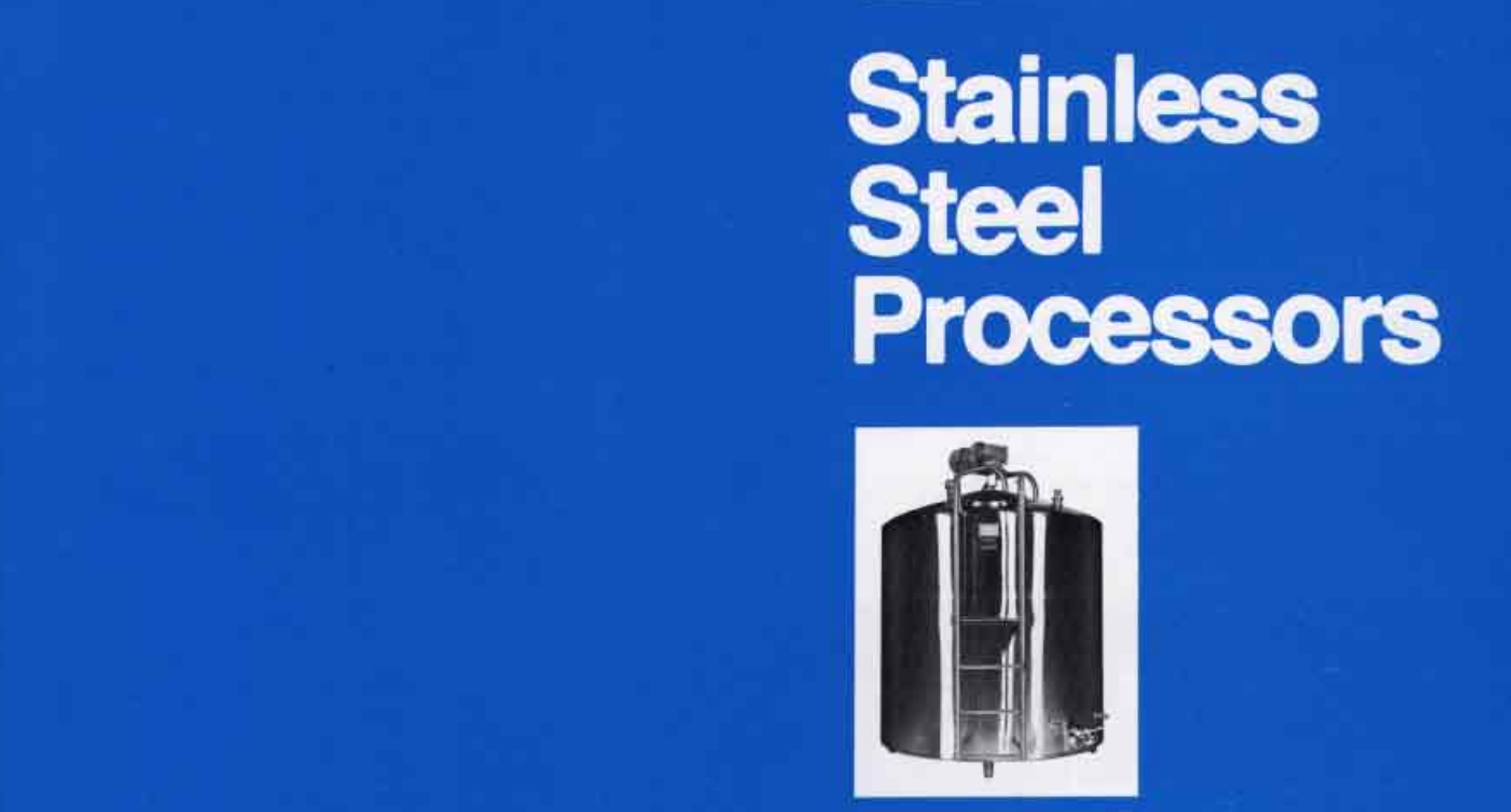 Stainless Steel Processors